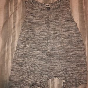 Old navy open back tank top
